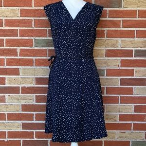 ☀️ 41 Hawthorn Polka Dot Wrap Dress